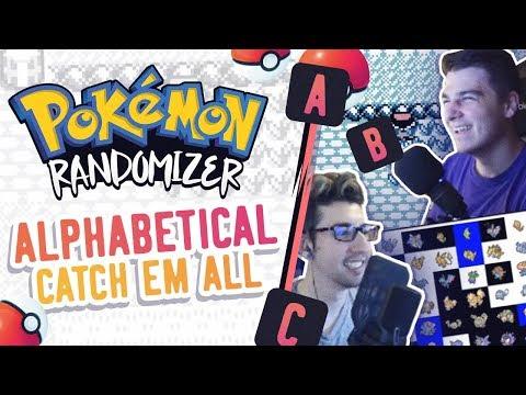 ALPHABETICAL ORDER Catch Em All Pokemon Randomizer Race Vs Keizaron