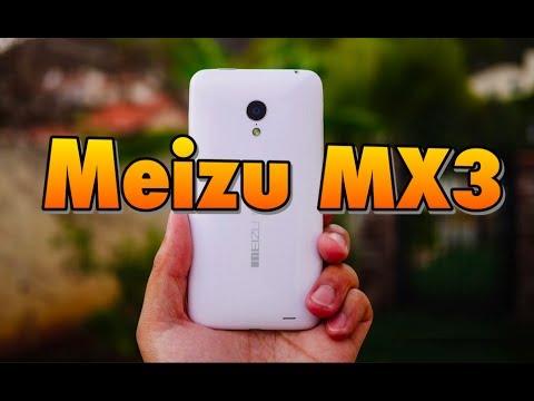 Unboxing Meizu MX3 en español