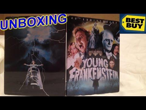 Young Frankenstein MetalPak Best Buy Exclusive Blu-ray Unboxing - 40th Anniversary/Mel Brooks