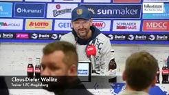 Pressekonferenz Vorstellung Claus-Dieter Wollitz