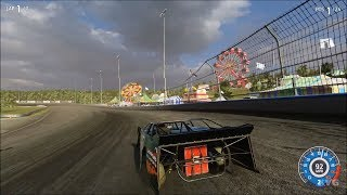 NASCAR Heat 3 - Taggart Dirt Track - Gameplay (PS4 HD) [1080p60FPS]