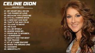 Celion Dion Greatest Hits  - Best songs of Celion Dion Colection