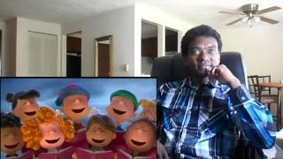 THE PEANUTS MOVIE TRAILER 2  - REACTION!!!