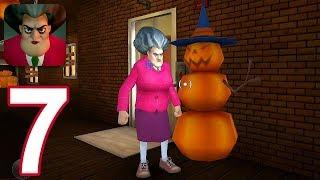 Scary Teacher 3D - Gameplay Walkthrough Part 7 - New Halloween Update (iOS)