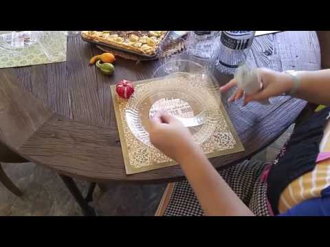 Fancy Table Setting using Plastic Plates Video