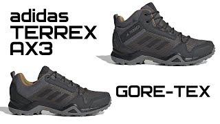 Обзор adidas TERREX AX3 Gore-Tex | BC0468 | BC0517 - Видео от Все о кроссовках