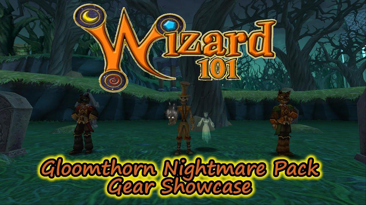 Wizard101 Hotspot: Gloomthorn Nightmare Pack Gear Showcase