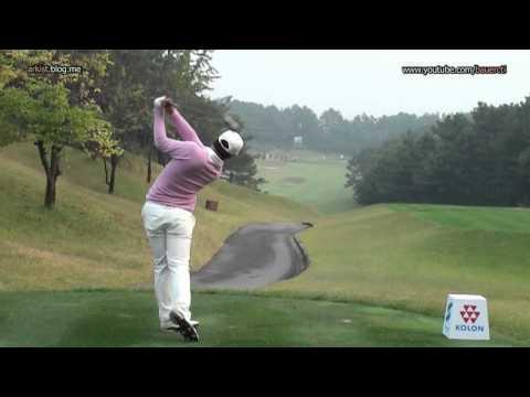 [HD SLOW] Kim Si-Woo 2011, Wood Golf Swing (2)