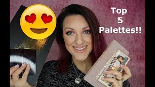 My all time Top 5 | Favourite Palettes!!