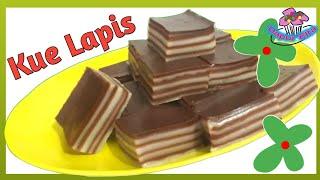 Resep Kue Lapis Jajanan Pasar Tradisional dari Tepung Beras dan Tapioka - Dapur Elta