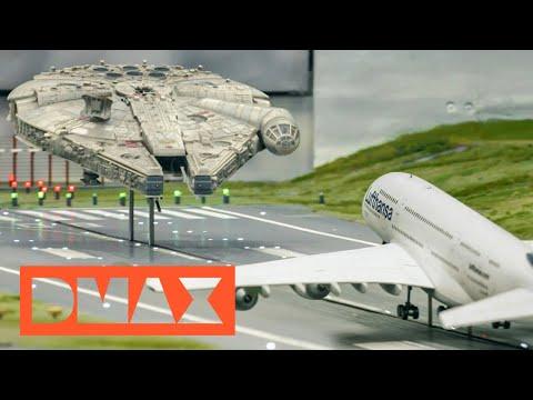 Flugbetrieb im Kleinformat | Die Modellbauer - Das Miniatur Wunderland | DMAX Deutschland