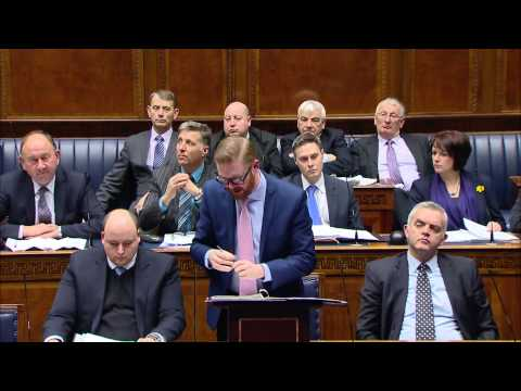 Question Time: Finance and Personnel Monday 09 March 2015