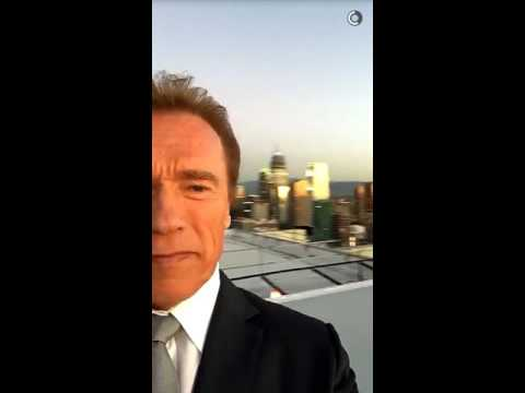 Arnold Schwarzenegger Just Became the King of Snapchat with This Video