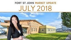 Fort St John Real Estate Market Update - July 2018