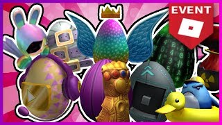 ALL ROBLOX EGGS! (2019)