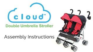 Kolcraft Cloud Double Umbrella Stroller