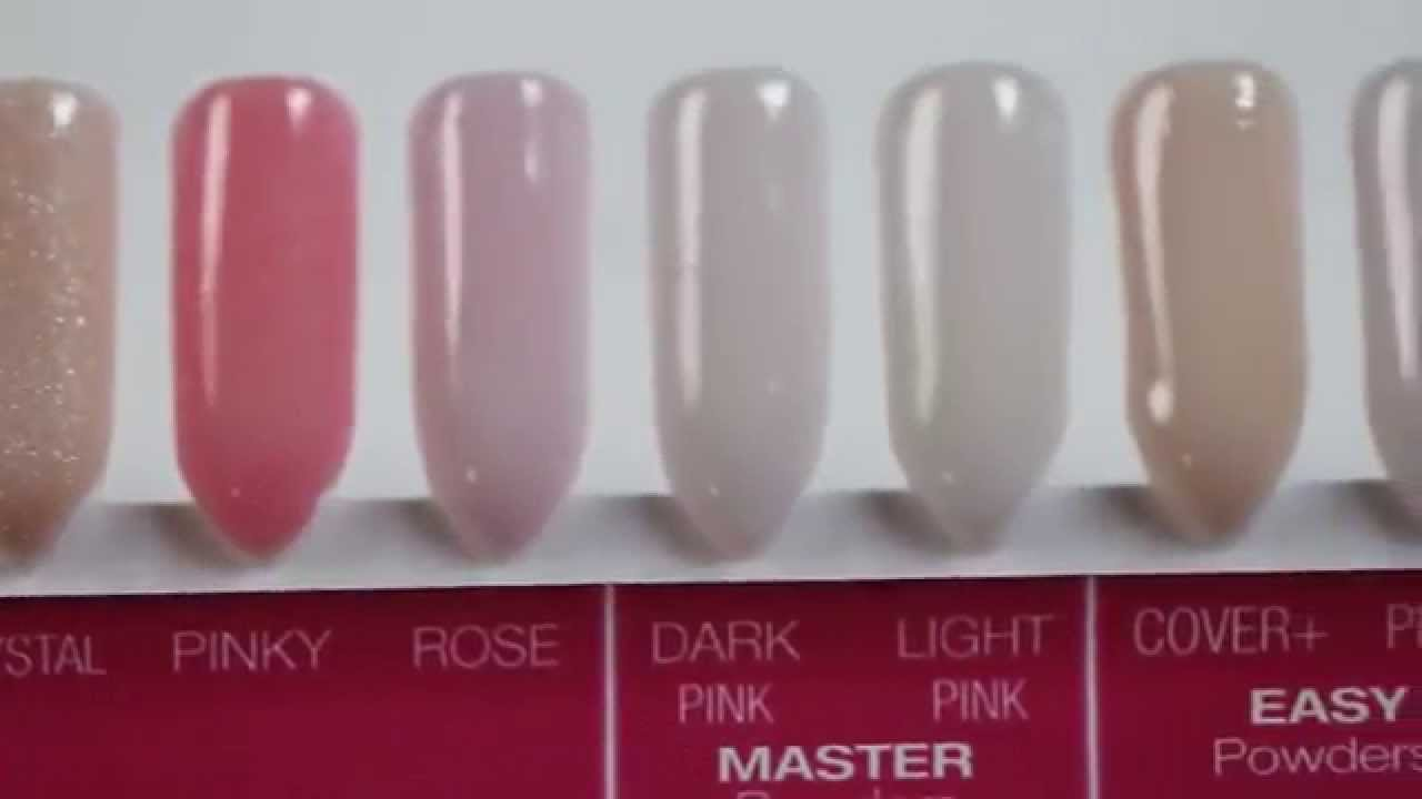 Acrylic powders - YouTube