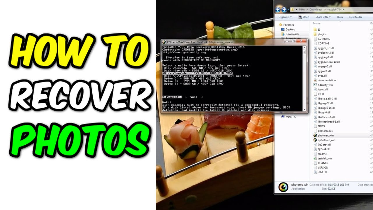 How to recover deleted photos, music, and more