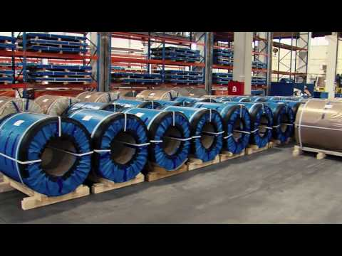 COIL-COATING LINE, METAL TRADE COMAX, a.s., Czech Republic