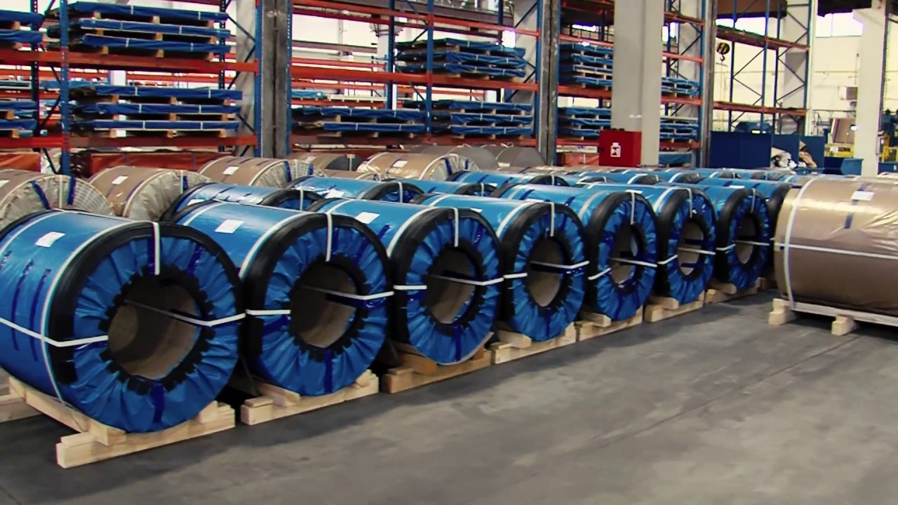 coil coating line metal trade comax a s czech republic youtube