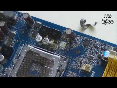 видео: Ремонт материнской платы: фазы питания процессора.
