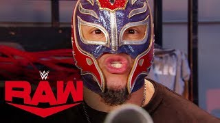 Rey Mysterio challenges Brock Lesnar for Survivor Series: Raw, Nov. 4, 2019