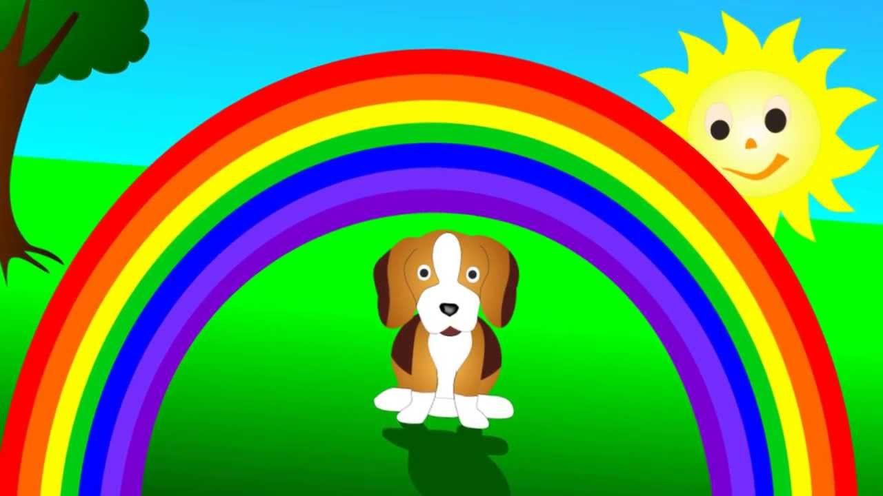 La filastrocca dell 39 arcobaleno canzone per bambini youtube - Arcobaleno da colorare stampabili ...