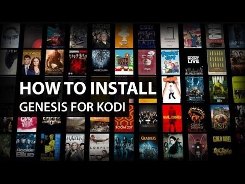 how to get kodi add on to show on video