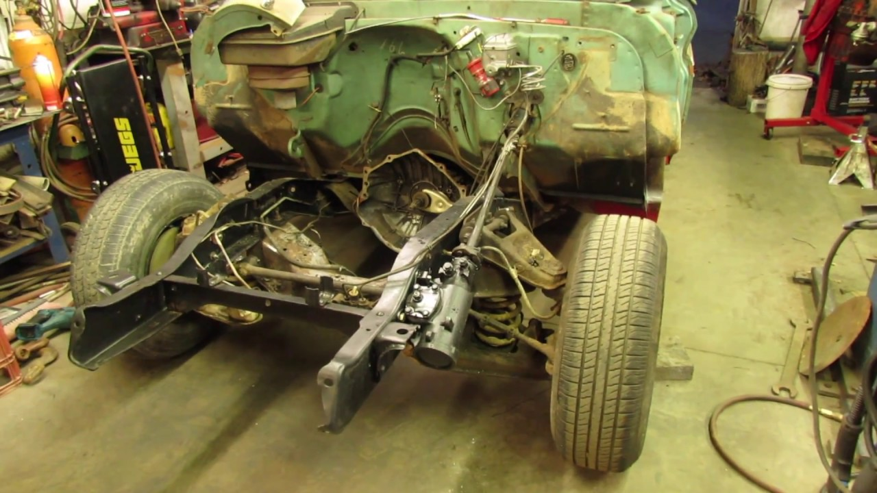 small resolution of 66 chevy c 10 install power steering