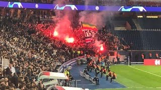 ULTRAS PSG VS ÉTOILE ROUGE BELGRADE