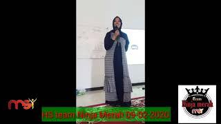 MSI salam dan doa Homesharing