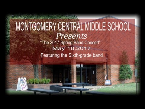 Samantha Sixth Grade Band - Montgomery Central Middle School