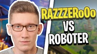RAZZZERo0o is completely taken apart by robots! | Fortnite Highlights English