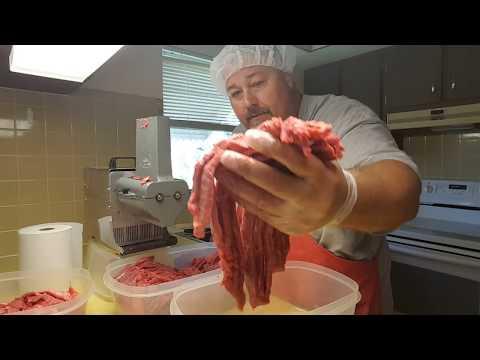 How to Cut Beef and Make Teriyaki Beef Jerky