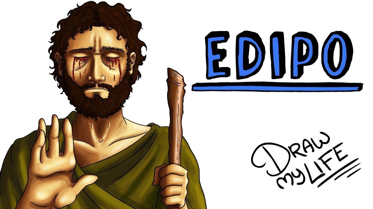 EL MITO DE EDIPO | Draw My Life Edipo Rey de Sófocles