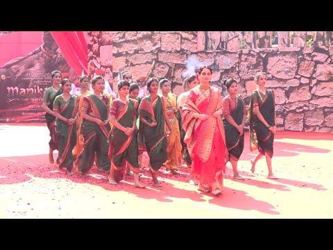 GRAND ENTRY Of Kangana Ranaut At Trailer Launch of Manikarnika : The Queen of Jhansi | SpotboyE