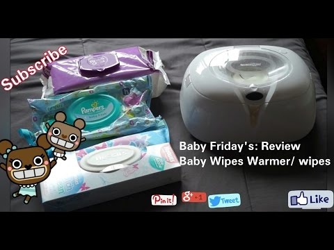 Baby Wipes/ Warmer REVIEW ● Baby Friday's