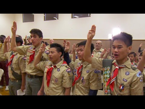 Boy Scouts of America: Girls now admitted