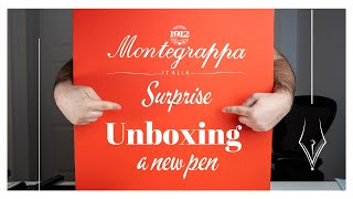 Montegrappa surprise - Unboxing a new pen