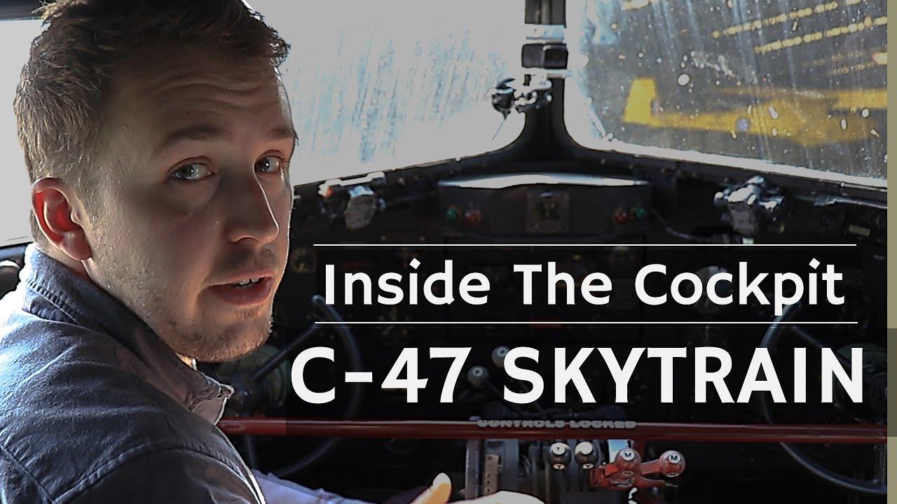 Download Inside The Cockpit - C-47 Skytrain/ Dakota/ DC-3   D-Day Airborne