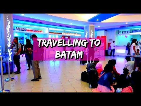 Travelling To Batam By Majestic Fast Ferry | Travel Vlog Batam, Indonesia