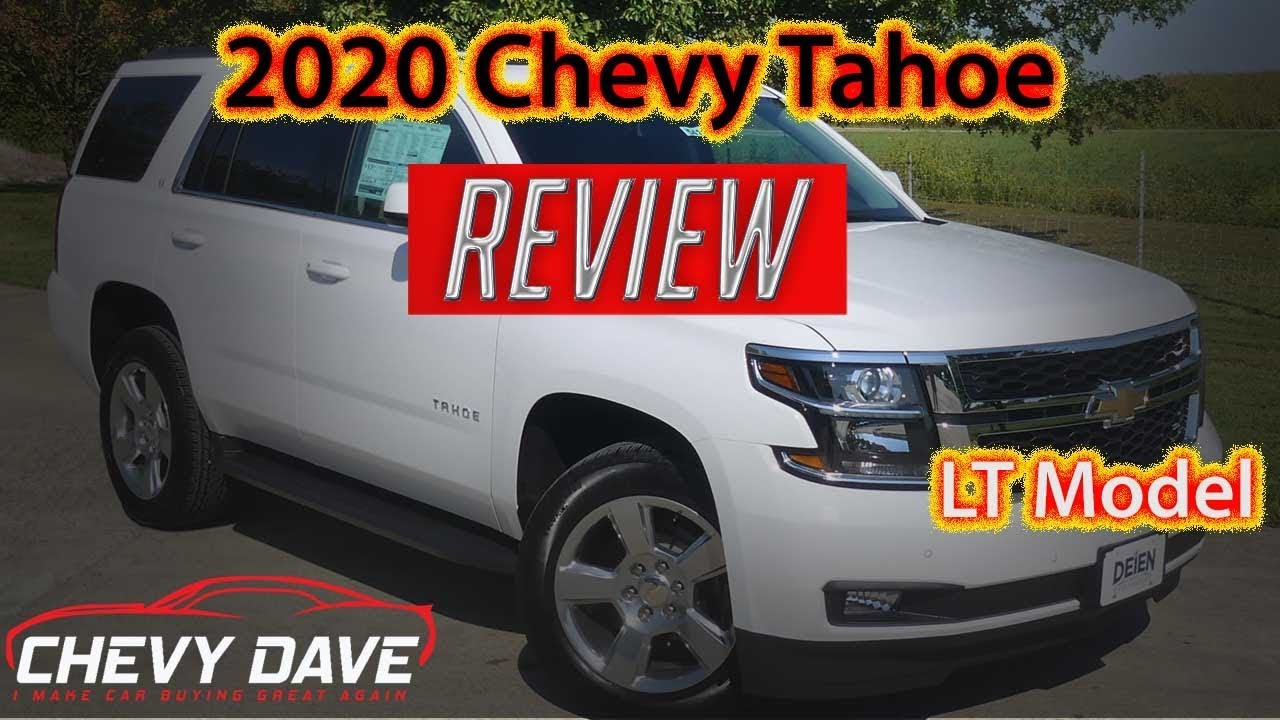 2020 Chevrolet Tahoe Lt Review Chevy Tahoe Review 5419 Youtube