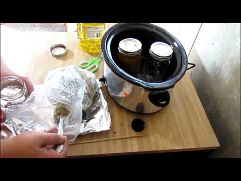 Homemade Soap, Making A Herbal Infusion Part 1