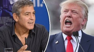 George Clooney: Donald Trump is not going be President