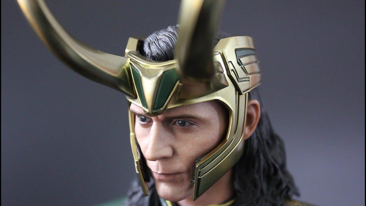 Avengers Captain America Thor Ragnarok Loki 1//6TH Scale Collectible Figure
