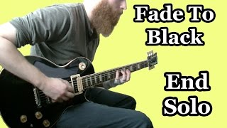 """Fade to Black"" End Solo (Metallica Cover)"