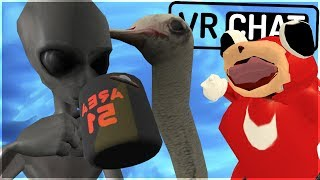 [VRChat] AREA 51 ALIEN SHARES HIS THOUGHTS! (FUNNY MOMENTS!)