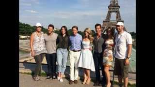 B&B PARIS PHOTOS WYATT HOPE LIAM Bold Beautiful Kimberly Matula Darin Brooks Promo Preview 8-4-14