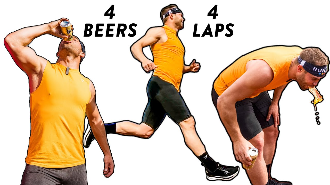 ALL OUT Beer Mile vs Champions!!