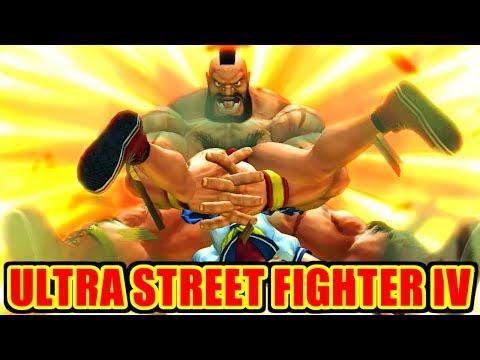 ザンギエフ(Zangief) ノーコンティニュークリア - ウルトラストリートファイターIV / ULTRA STREET FIGHTER IV
